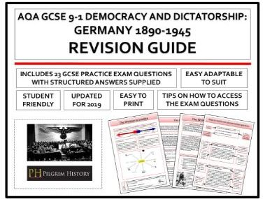 Germany Democracy and Dictatorship Revision Guide AQA GCSE 9-1