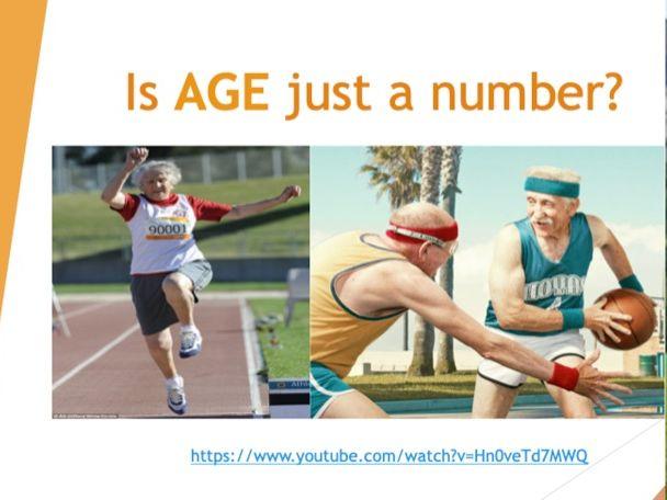 GCSE PE: Socio-Cultural Influences, Age Affecting Participation (Component 2)