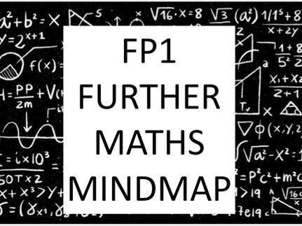 A Level Further Pure Further Maths Mindmap - Edexcel