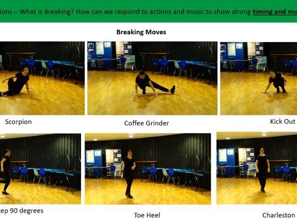 Hip hop Dance Scheme of Learning - 6 Lessons