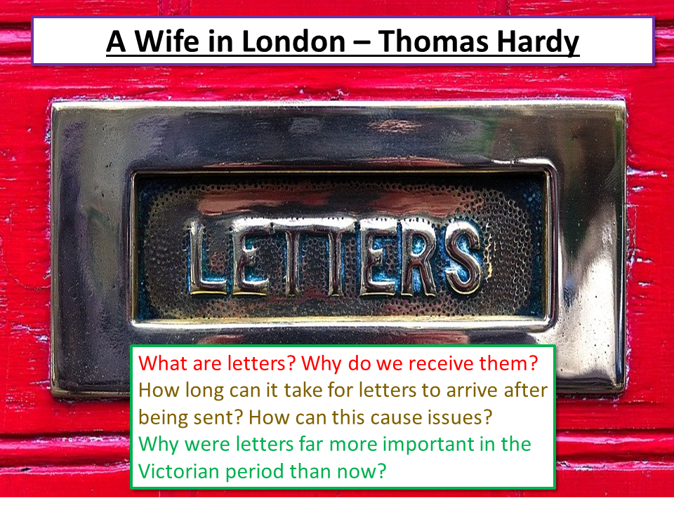 A Wife in London Thomas Hardy