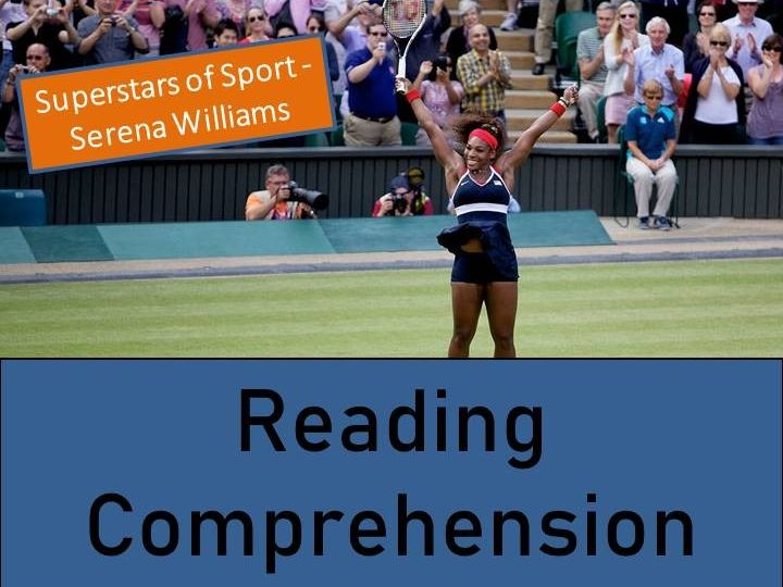 Serena Williams Reading Comprehension Activity