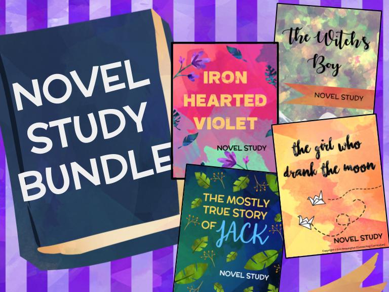 Kelly Barnhill Novel Study BUNDLE (4 Novel Studies)