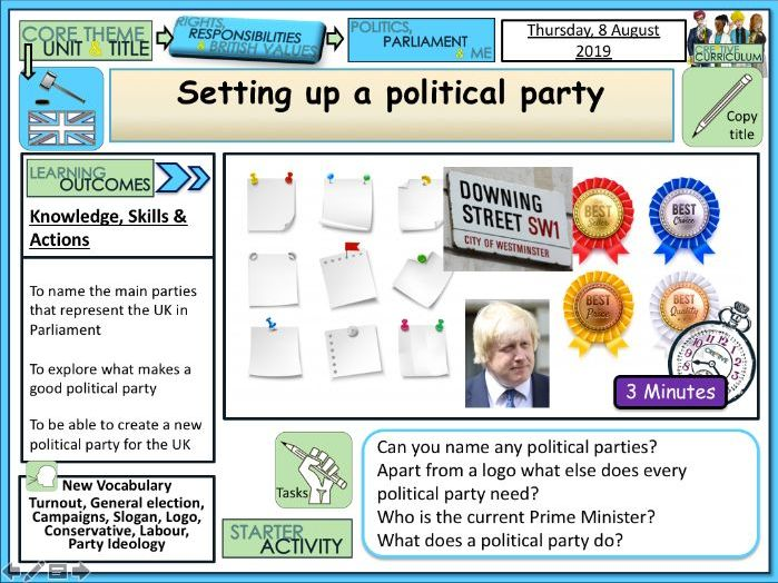 Setting up a Political Party PP