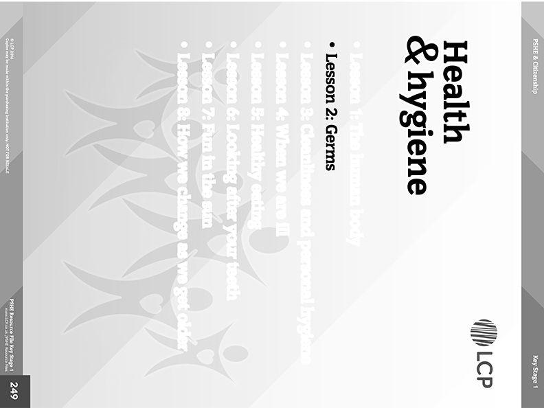 pshe - free lesson - health  u0026 hygiene