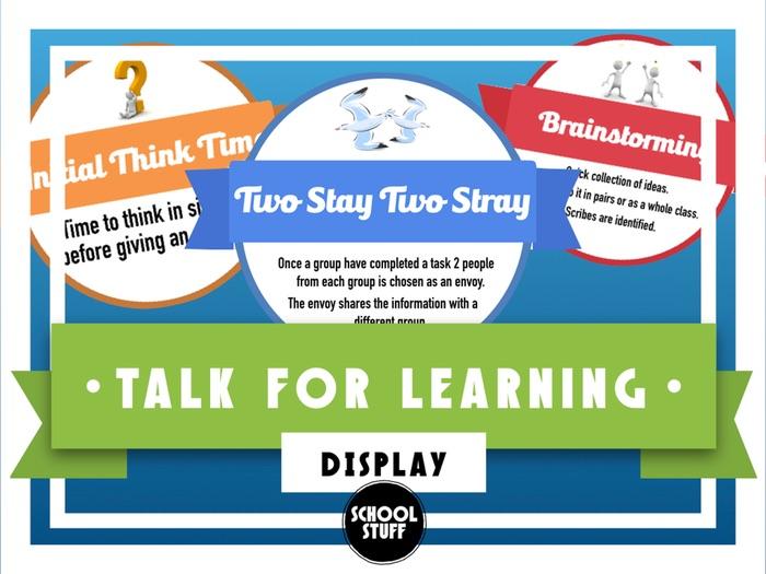 Talk for Learning - T4L - School Stuff