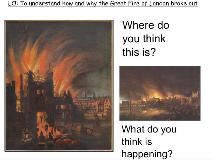 Great Fire of London Notebook File