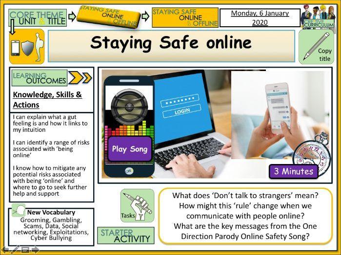 Safer Internet Day - Staying Safe online