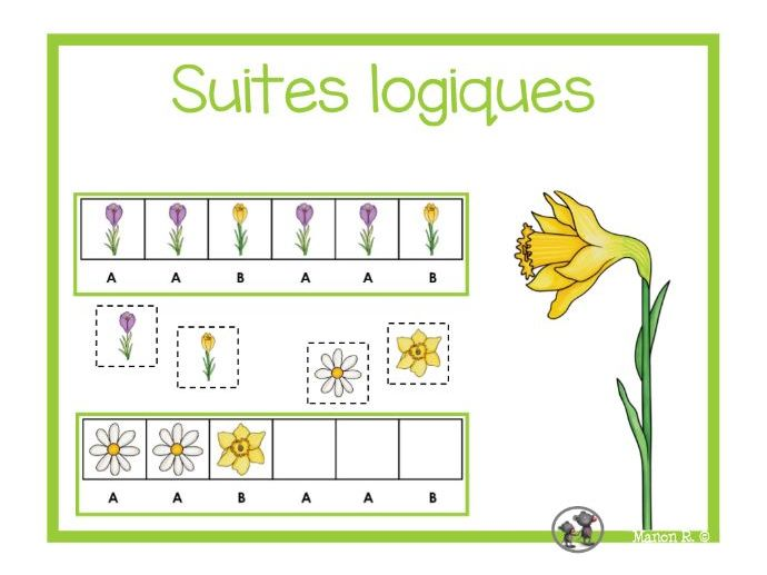 Suites logiques (printemps)