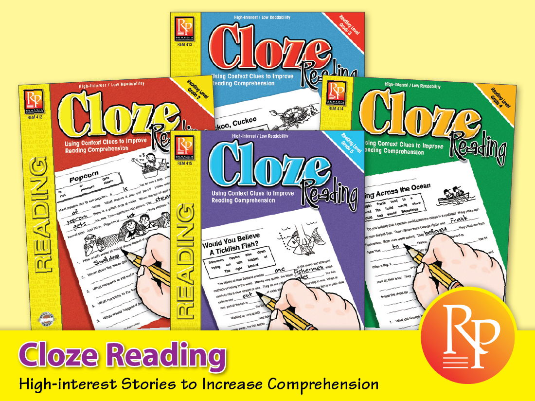 Cloze Reading {Bundle}