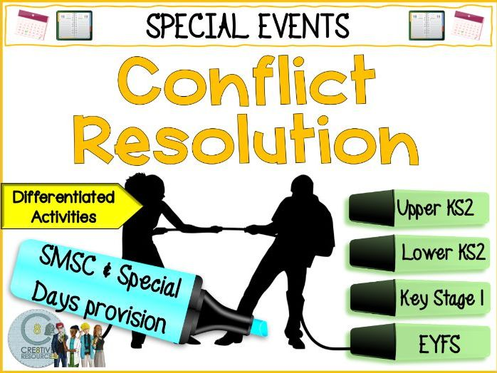 Conflict Resolution Day - Primary PSHE