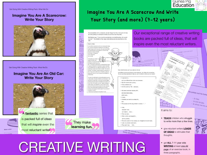 Imagine You Are A Scarecrow And Write Your Story (7-13 years)