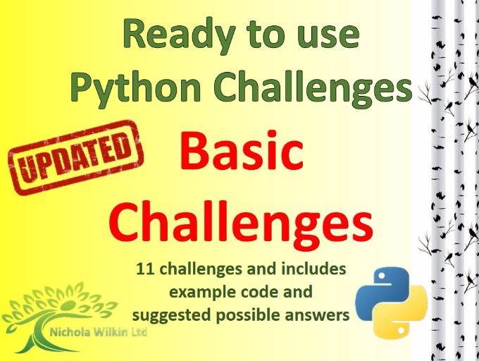 Python Basic Challenges