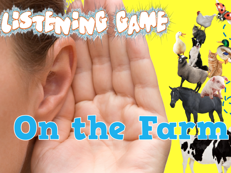 What the Ladybird Heard (On The Farm) Listening Bingo Game (Phase 1 Phonics)