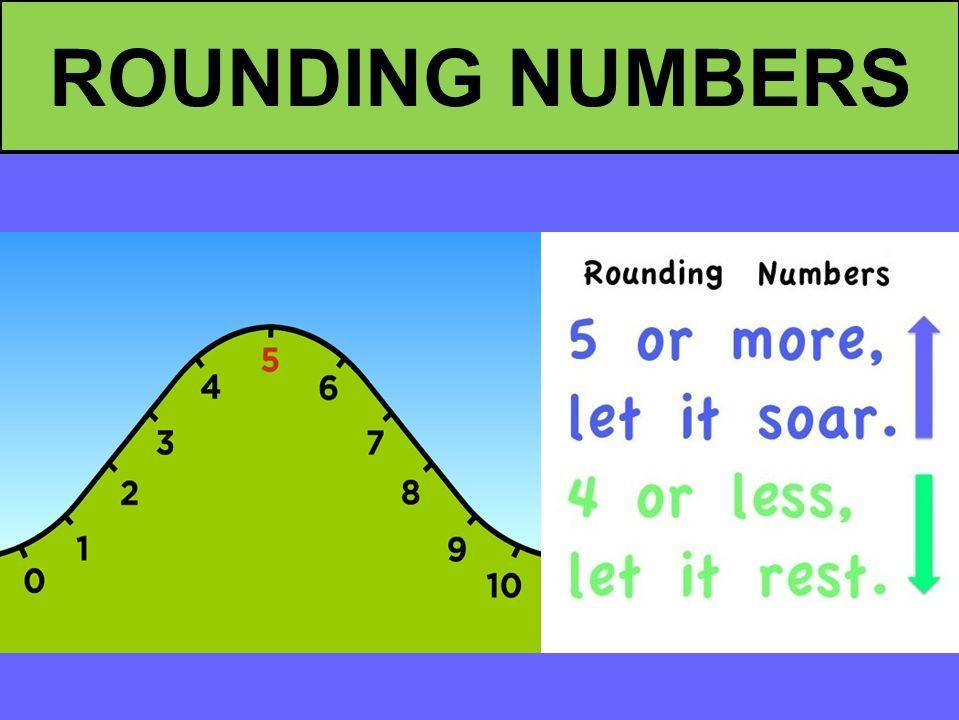 Rounding to the nearest 10, 100 and 1000