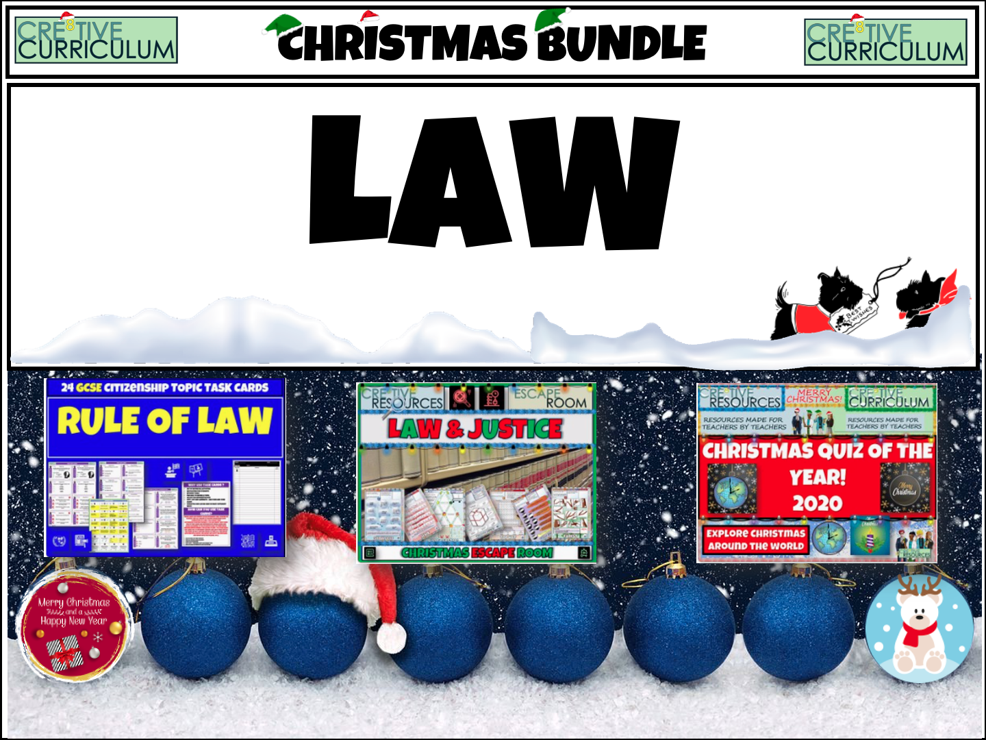 Law End of Year Christmas Bundle