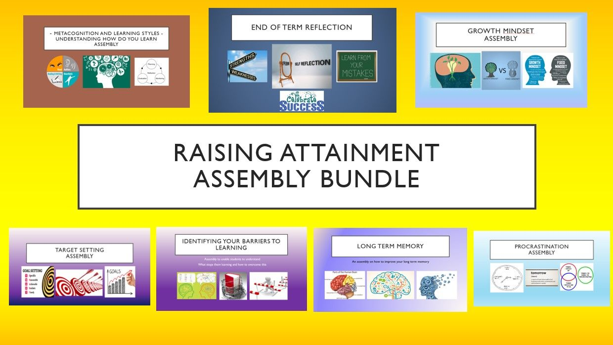 Raising Attainment Assembly Bundle