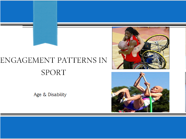 AQA GCSE PE - 1-9 - Engagement Patterns in Sport - AGE & DISABILITY