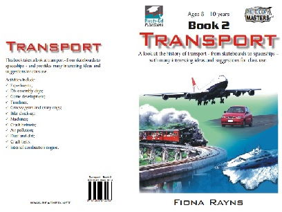 Transport Book 2 - Activities for 8 - 10 years