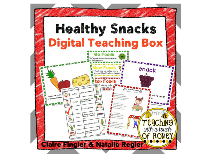 Healthy Snacks Digital Teaching Box