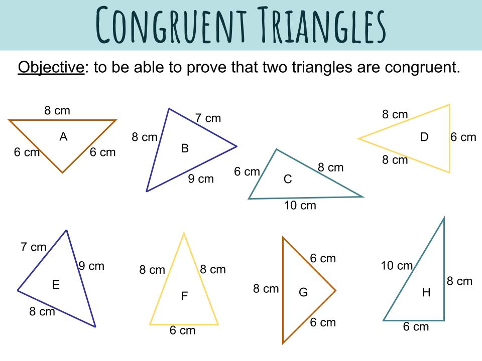 Congruent Triangles