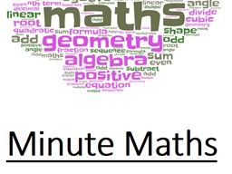 Minute Maths Question sheets