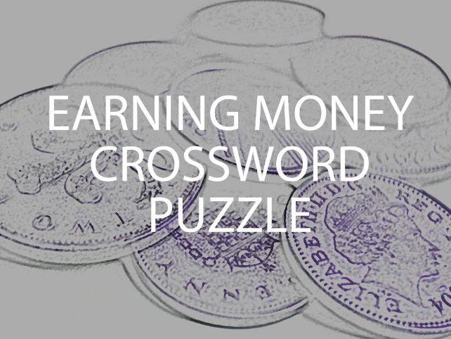 Earning Money Crossword Puzzle