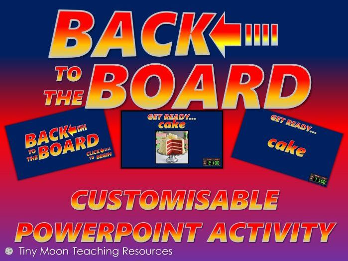Back to the Board PowerPoint Template
