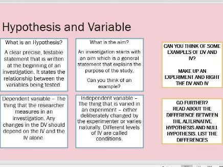 AQA GCSE Psychology - Research Methods Revision Pack