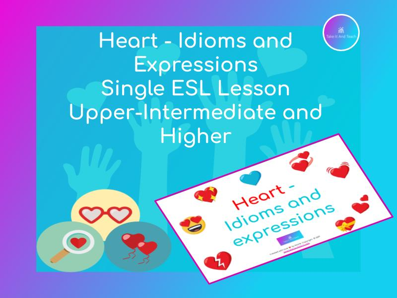 ESL | Heart - Idioms and Expressions