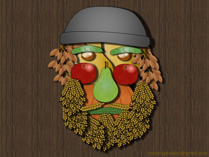 Create your own Giuseppe Arcimboldo Art - Autumn Harvest