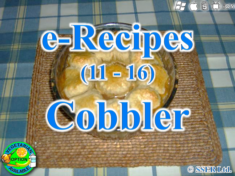 38.   Cobbler (e-Recipe)