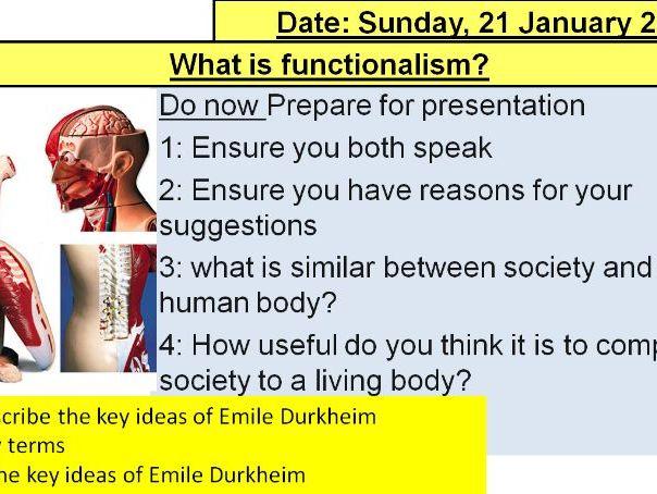 Emile Durkheim part 2