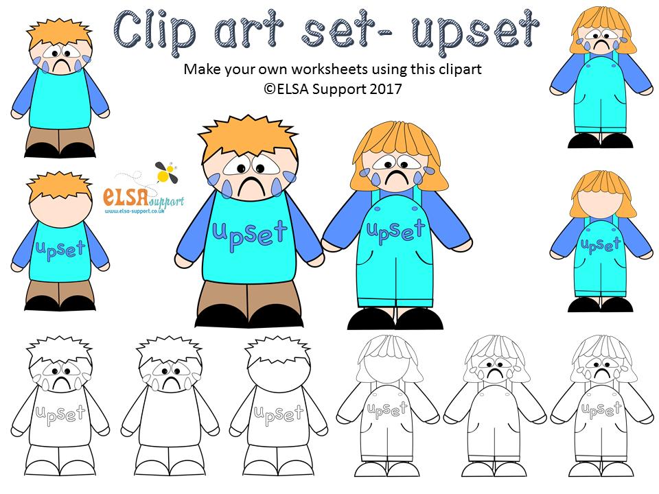 Emotions Clip art - Upset