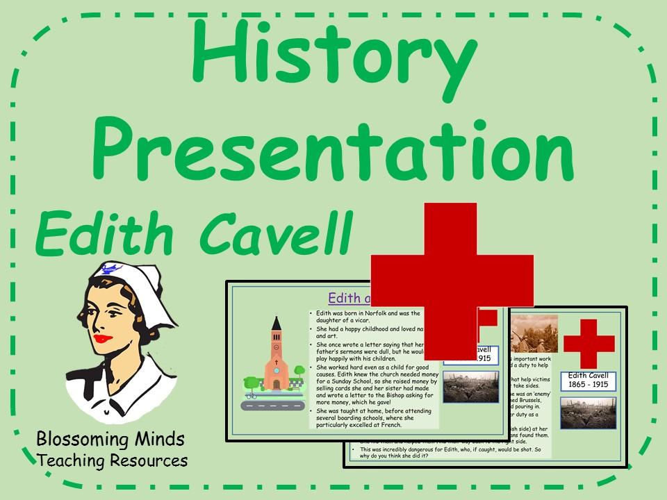 Edith Cavell History Presentation