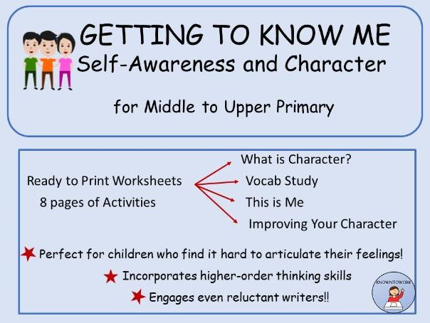 Getting To Know Me:Self-Awareness and Character