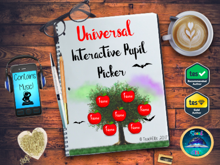 Halloween - Interactive Pupil Picker / Lesson Register