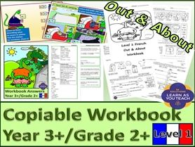 Level 1 French Out & About Workbook