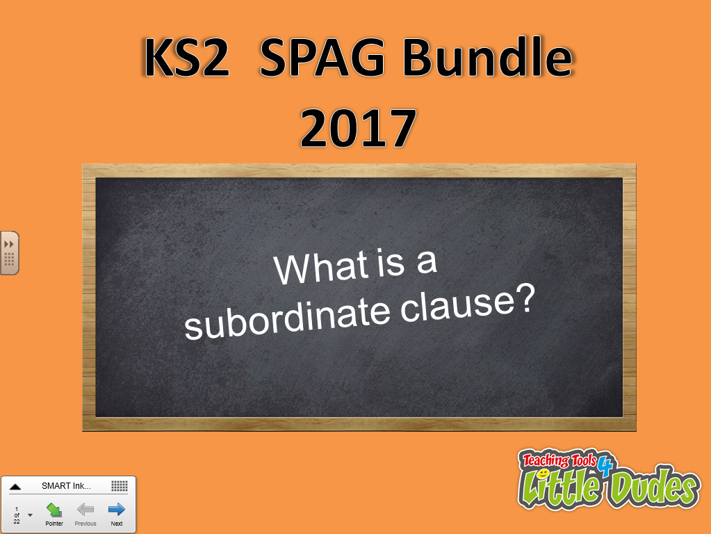 2017 Key Stage 2/KS2 SATS SPAG Revision Bundle