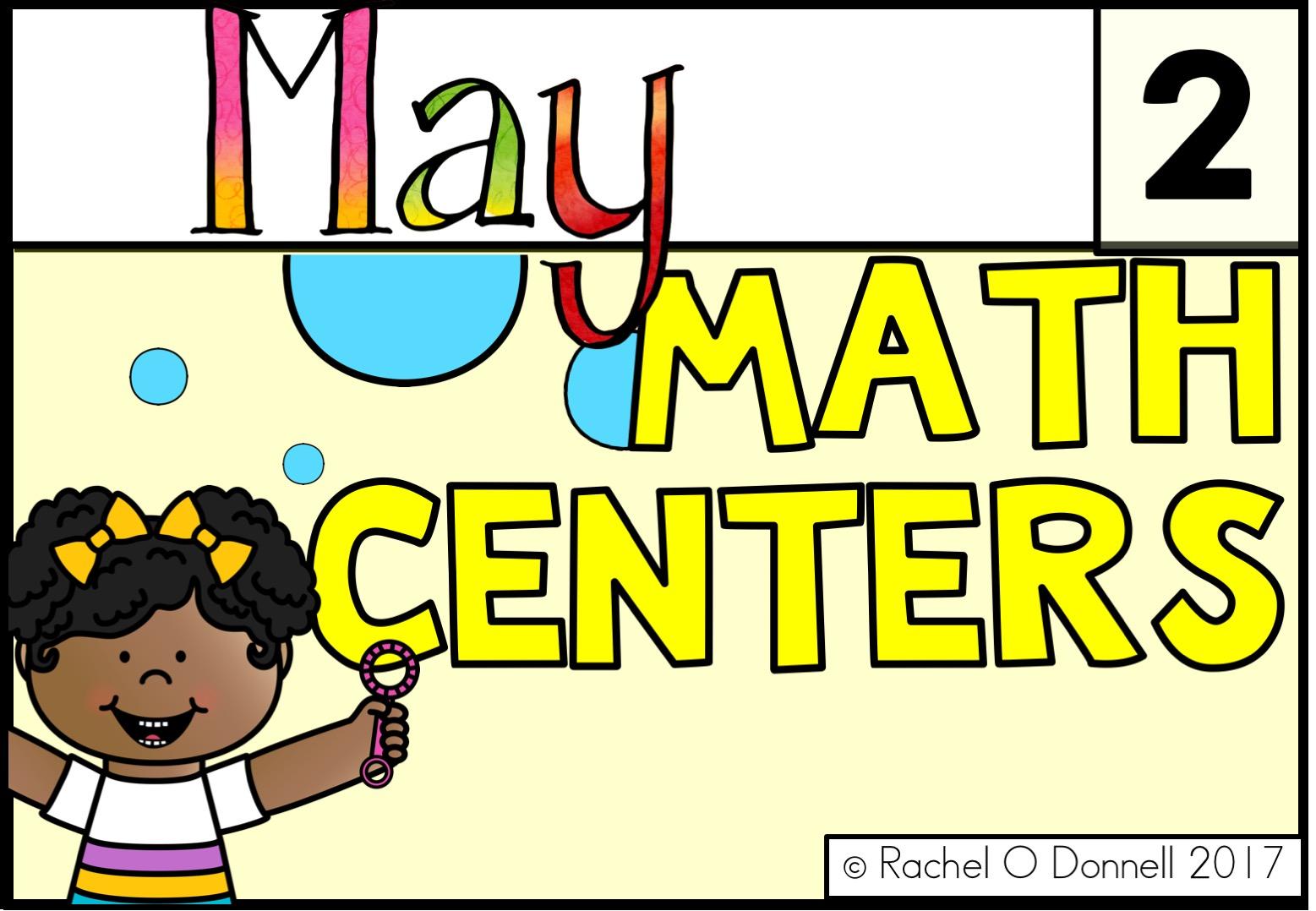 May Maths Centers Year 2