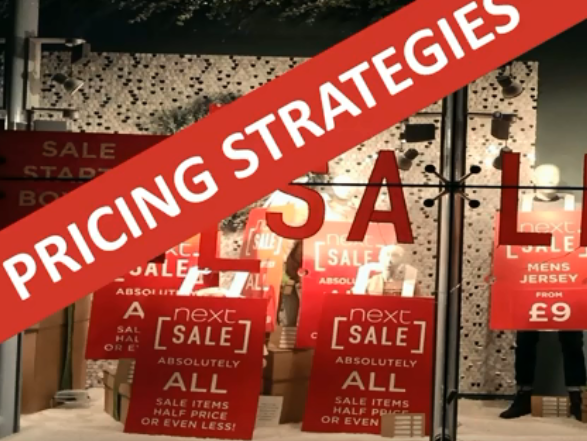 Pricing Strategies Activity & Video
