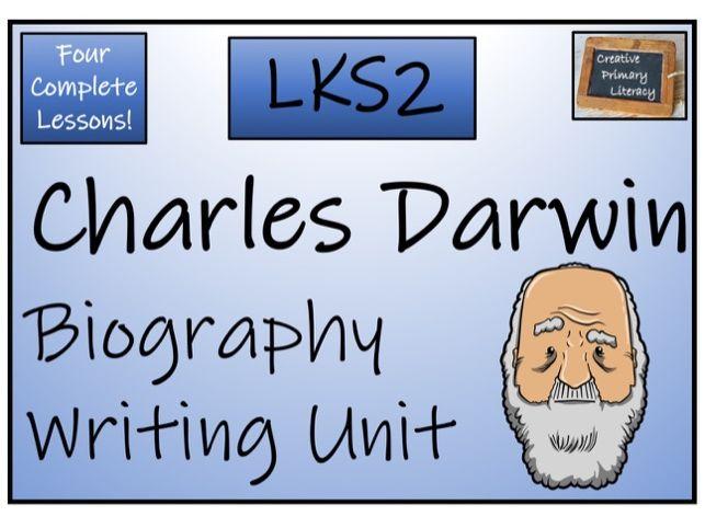 LKS2 Science - Charles Darwin Biography Writing Activity