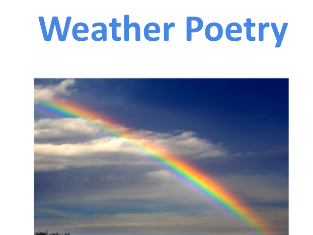 Weather poetry
