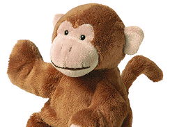 Bongo (the monkey) and his travels around the world