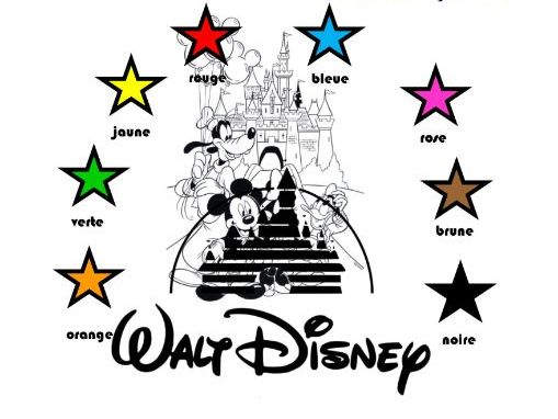 Primary French: The world of Disney and colours (Key Stage 1 and 2)