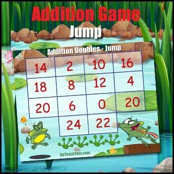 Addition Game - Doubles & 2 Times Table Game - Jump by GoTeachThis ...