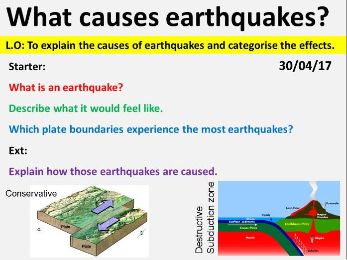 NEW OCR GCSE - Natural Hazards: Earthquakes