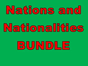 Nations and Nationalities in English Bundle