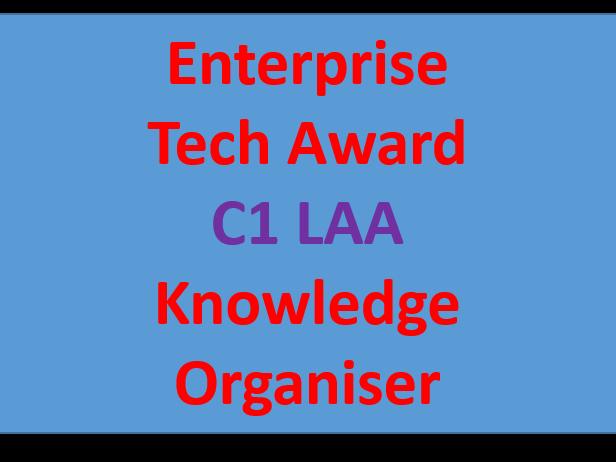 Enterprise Tech Award KO Component 1 LAA