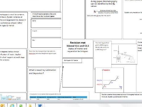 CC1 &CC2 single revision mat